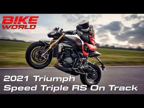 2021 Triumph Speed Triple 1200 RS First Ride (On Track)