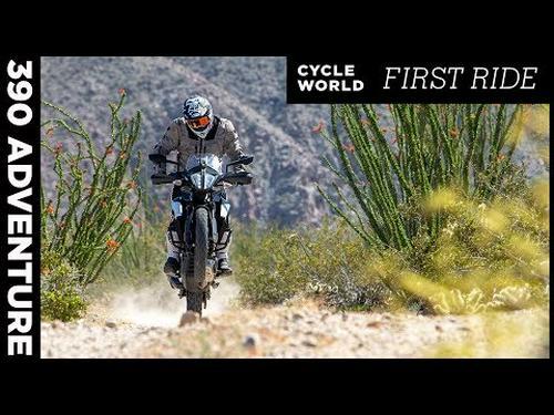 2020 KTM 390 Adventure First Ride