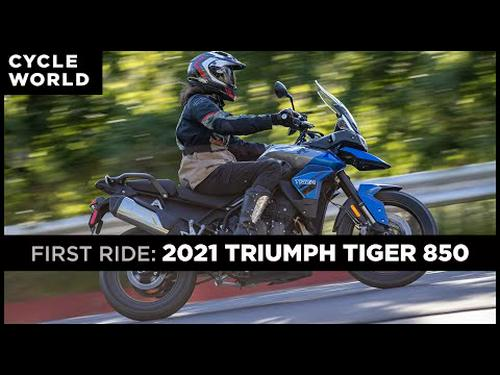 2021 Triumph Tiger 850 First Ride