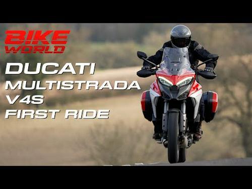 2021 Ducati Multistrada V4S First Ride (4K)