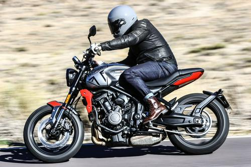 Is the 2021 Triumph Trident, the perfect first big...
