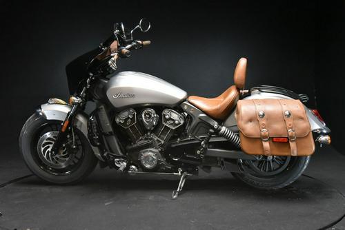 2015 Indian Motorcycle® Scout™ Silver Smoke