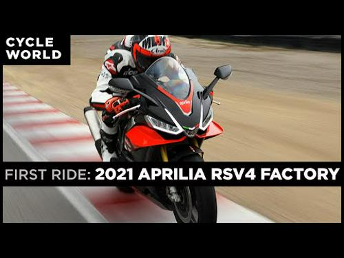 2021 Aprilia RSV4 Factory and RSV4 First Ride