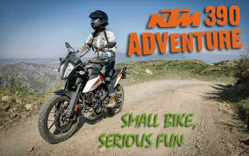 2020 KTM 390 Adventure Review