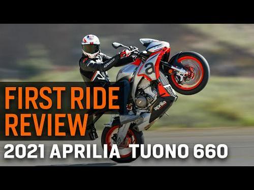 2021 Aprilia Tuono 660 First Ride Review