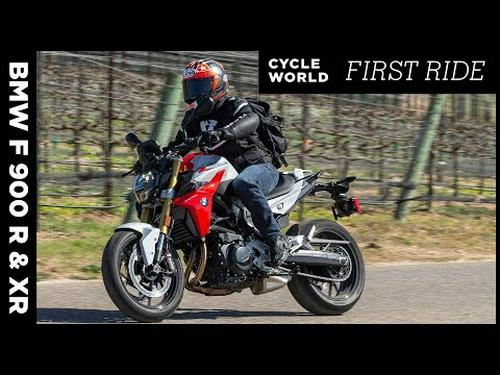 2020 BMW F 900 R and XR Review