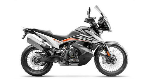 2020 KTM 790 ADVENTURE, White