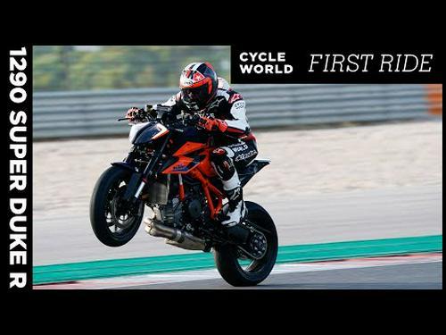 2020 KTM 1290 Super Duke R First Ride