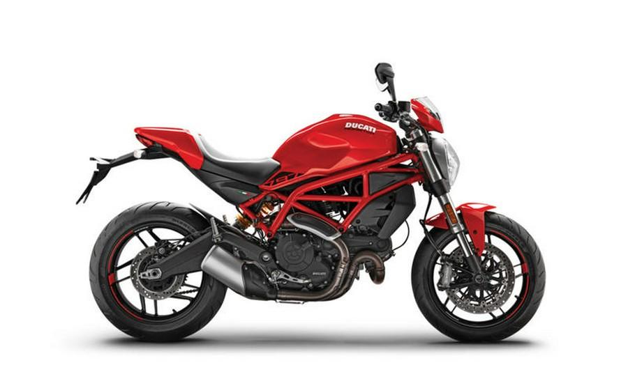 2021 Ducati Monster 797 Red