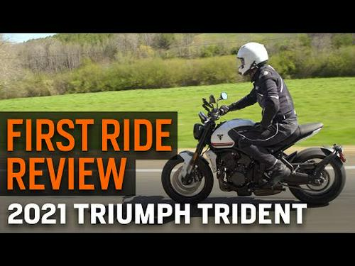 2021 Triumph Trident First Ride Review