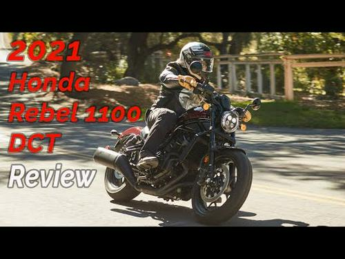 2021 Honda Rebel 1100 DCT Review