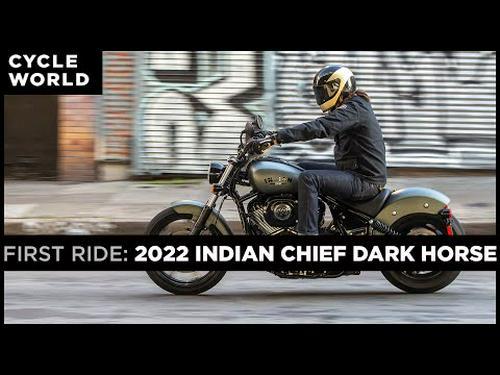 2022 Indian Chief Dark Horse First Ride