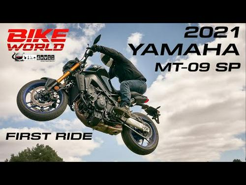 2021 Yamaha MT-09 SP | Our First Ride, With Added Jumps!