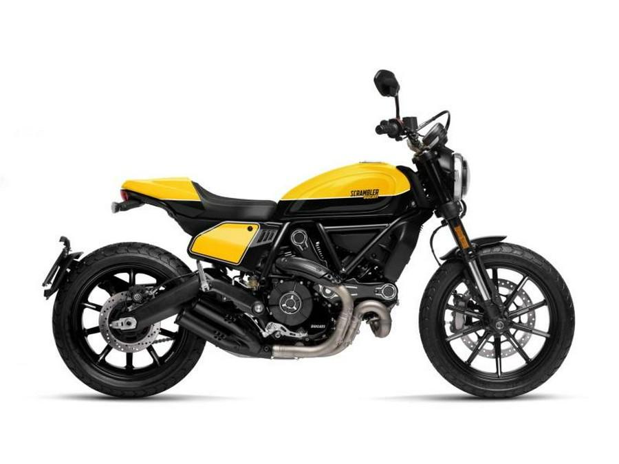 2020 Ducati Scrambler 800 Full Throttle Shining Black/Yellow