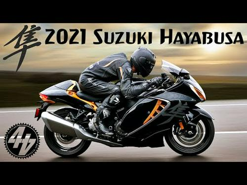 2021 Suzuki Hayabusa   Preview + Tech Detail
