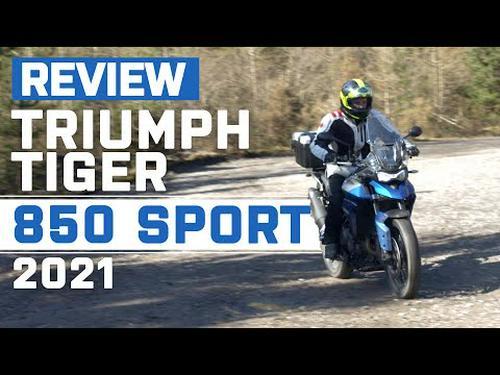 New Triumph Tiger 850 Sport 2021 Review and Tiger 900 Rally Pro Review   Visordown.com