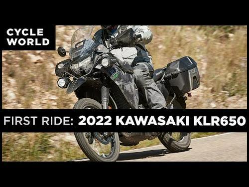 2022 Kawasaki KLR650 First Ride