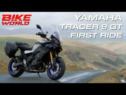 2021 Yamaha Tracer 9 GT | First Ride In 4K.