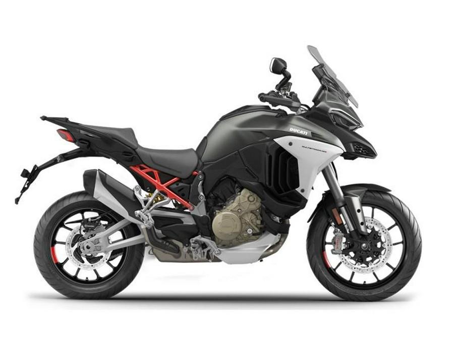 2021 Ducati Multistrada V4S Aviator Grey / Alloy Wheels