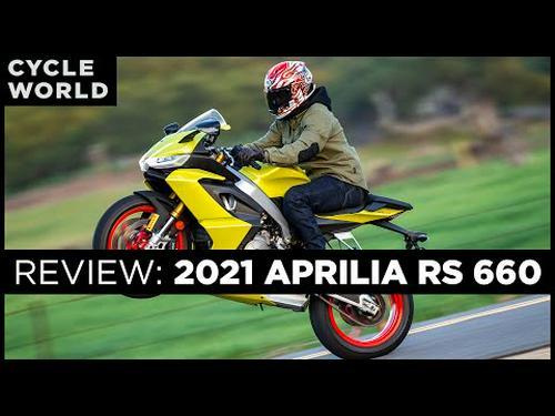 2021 Aprilia RS 660 Road Test Review