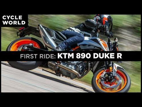 2020 KTM 890 Duke R First Ride