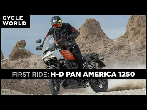 2021 Harley-Davidson Pan America 1250 Special First Ride