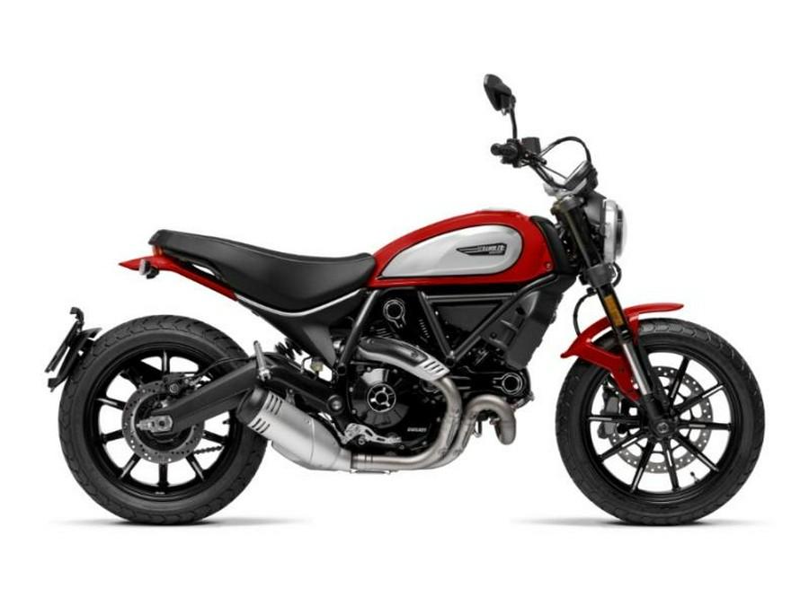 2021 Ducati Scrambler Icon Rosso Ducati