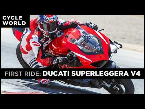 2021 Ducati Superleggera V4 First Ride Review