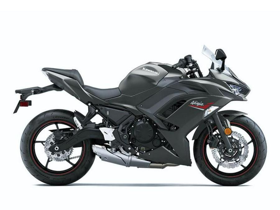 2022 Kawasaki Ninja® 650 Metallic Matte Graphenesteel Gray