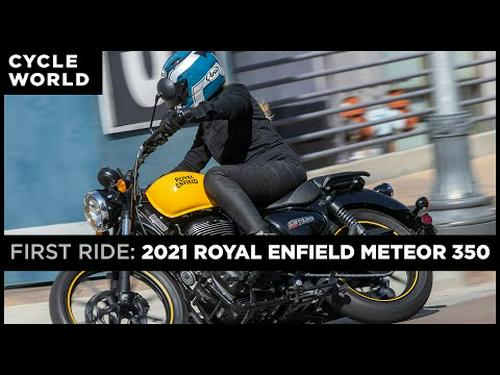 2021 Royal Enfield Meteor 350 First Ride Review