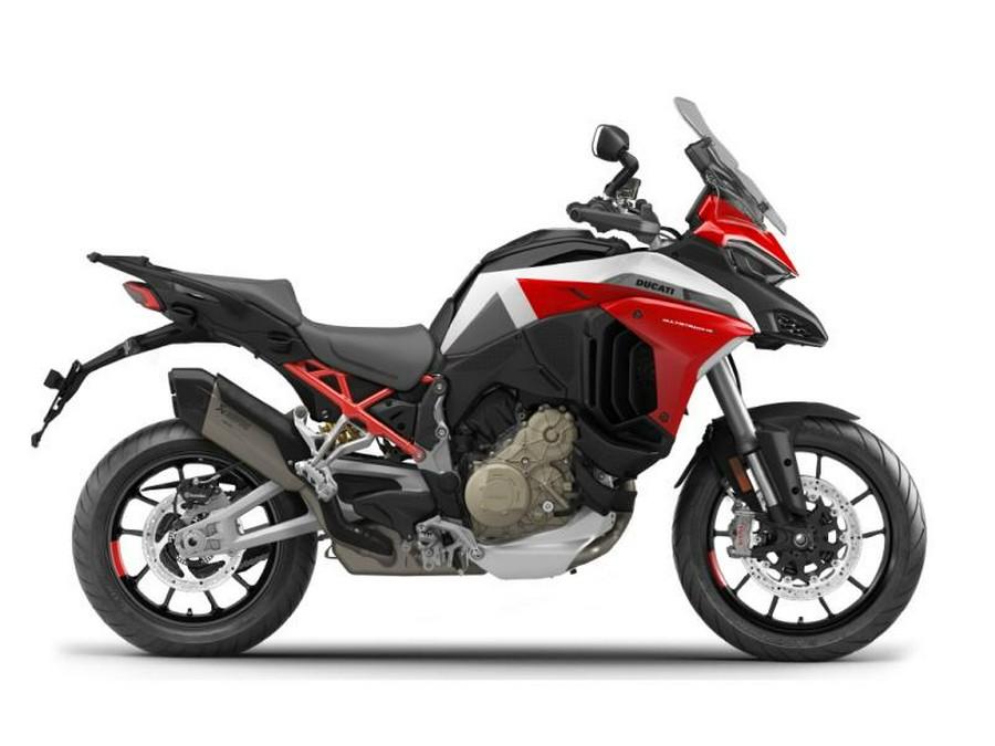 2022 Ducati Multistrada V4 Sport Livery and Alloy Wheels