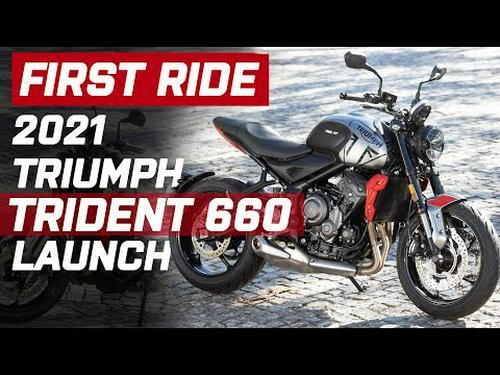 2021 Triumph Trident 660 First Ride | Triple trouble for Yamaha MT-07 & Kawasaki Z650? | Visordown