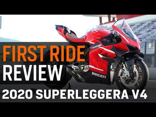2020 Ducati Panigale V4 Superleggera First Ride Review