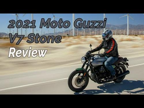 2021 Moto Guzzi V7 Stone Review