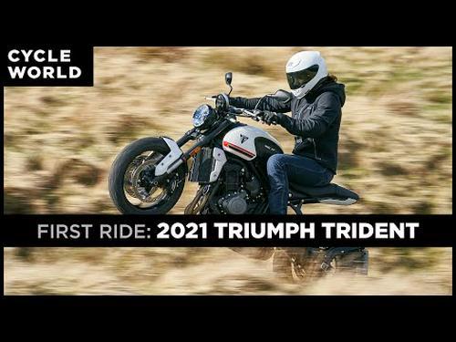2021 Triumph Trident 660 First Ride