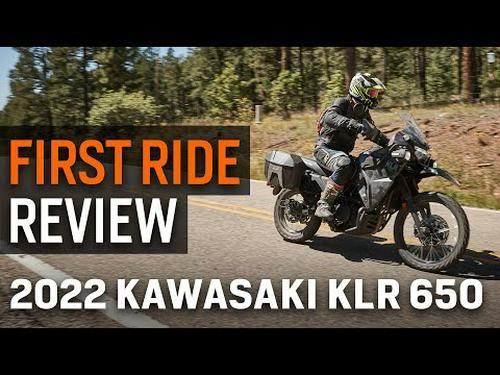 2022 Kawasaki KLR650 First Ride Review