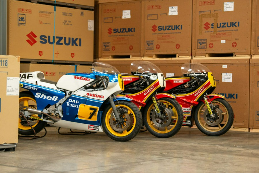 """Suzuki: Two more Barry Sheene motorcycles will be restored """"live"""" at NEC"""