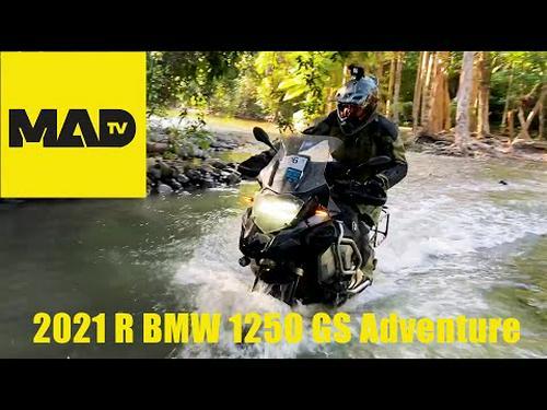 Teaser - Review 2021 BMW R 1250 GS Adventure & 2021 BMW Safari
