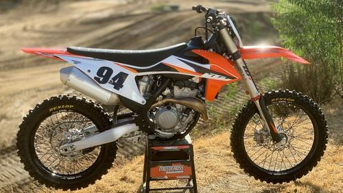 2021 KTM 350SXF FIRST RIDE VIDEO: NEW SUSPENSION & MAPPING