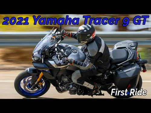 Our First Ride Aboard The 2021 Yamaha Tracer 9 GT