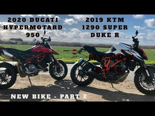 2019 KTM 1290 SUPER DUKE R, MY NEW BIKE PART 2, Inc - 2020 Ducati Hypermotard & Yamaha MT09