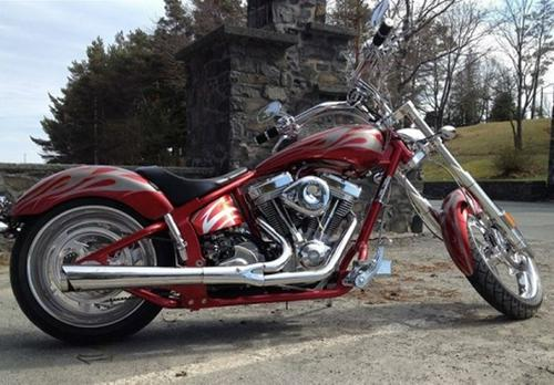 2009 Orange County Choppers Zero Gravity Cruiser