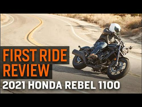 2021 Honda Rebel 1100 First Ride Review