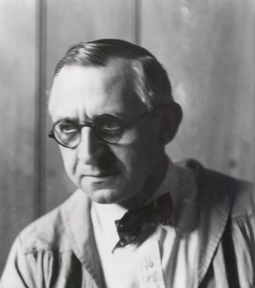 <p>George Sotter. Photo taken by Peter A. Juley and Son. Courtesy of Carol Kinnier. James A. Michener Art Museum archives.</p>