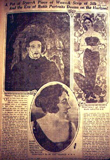 Ethel Wallace,<em> Gay Primitive, International Studio</em><em>,</em> February 1923.