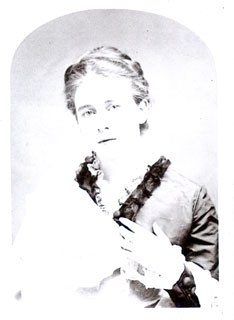 Florence Snell as a Young Woman, n.d. Image courtesy of a private collection.