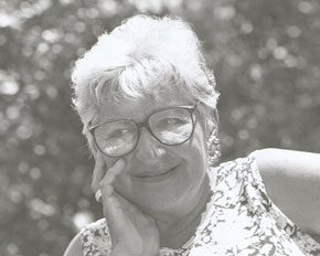 Photograph of Selma R. Bortner. Image courtesy of the artist. James A. Michener Art Museum archives.