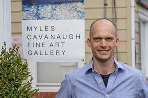 Myles Cavanaugh, photo courtesy of Hillary Yasmer Shemin.