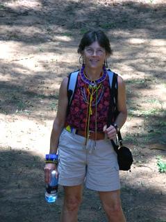 Wendy Ellsworth in Kenya. Image courtesy of the artist.