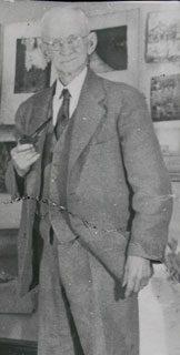 Fred Wagner, image courtesy of Marguerite Brendlinger Robinson of Cary, North Carolina.